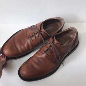 Johnston & Murphy Sz 9 leather oxfords shoes